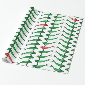 fish wrapping paper Looking for the perfect gift wrapping paper for any occasion buy your gift wrap roll online now.