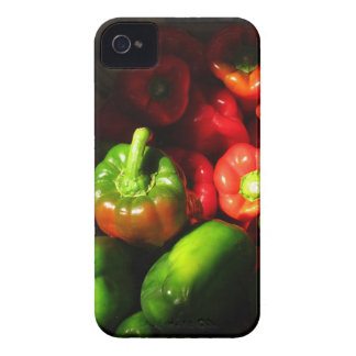 Green and red peppers Case-Mate iPhone 4 cases