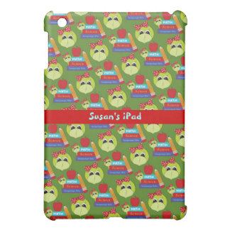 Green and Red School Time iPad Mini Case