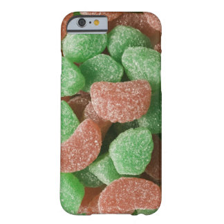 Green and red sugared candies barely there iPhone 6 case