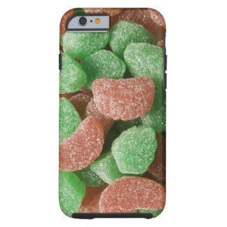 Green and red sugared candies tough iPhone 6 case