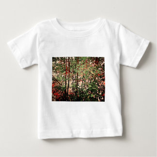 Green And Red Thicket Baby T-Shirt
