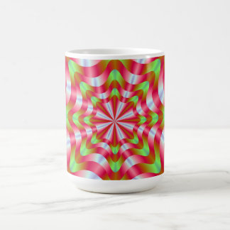 Green and Red Whirling Dervish Mug