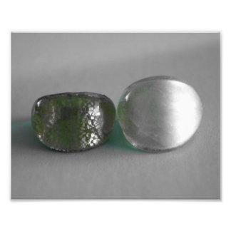Green and silver fotografías