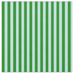 [ Thumbnail: Green and Turquoise Striped/Lined Pattern Fabric ]