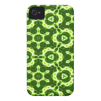Green and white  abstract Blackberry case