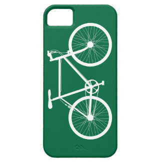 Green and White Bicycle iPhone 5 Case