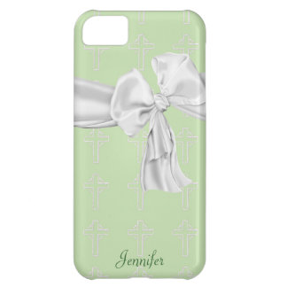 Green and White Christian iPhone 5 Case