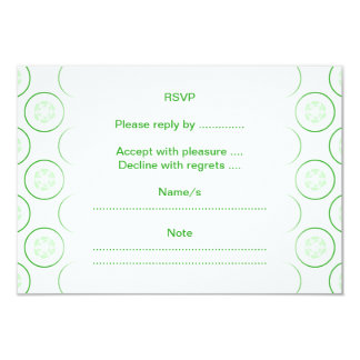 Green and White Cucumber Pattern. Custom Invites