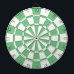 "Green And White Dartboard With Darts<br><div class=""desc"">Green And White Dart Board</div>"