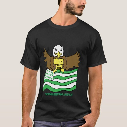 Green And White Flag T-Shirt