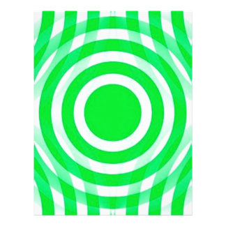 green_and_white_interlocking_concentric_circles flyer