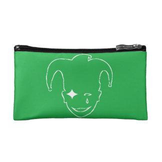 Green And White MTJ Makeup Bag