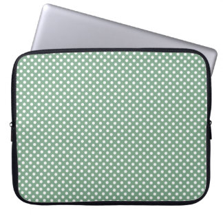 Green and White Polka Dots Case