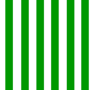 Green And White Stripe Pattern Round Pillow