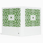 green and white striped pattern, floral angles binders