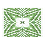 green and white striped pattern, floral angles custom invitations