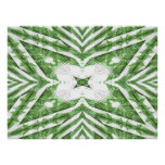 green and white striped pattern, floral angles print