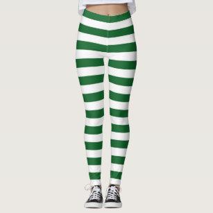f0cd645317116 Women's Horizontal Stripes Leggings | Zazzle