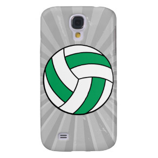 green and white volleyball galaxy s4 case