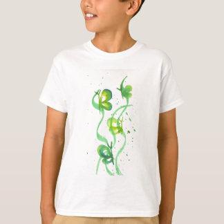 Green and Yellow Butterflies T-Shirt