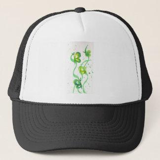 Green and Yellow Butterflies Trucker Hat