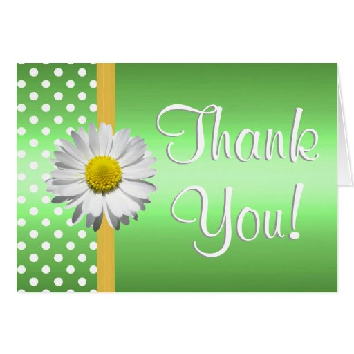Green_and_yellow_daisy_thank_you_card 137114149994620109 on Horizontal Writing Paper