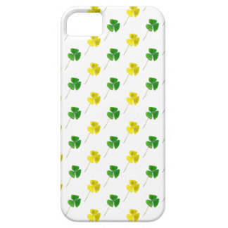 Green and Yellow Gold Shamrock Pattern iPhone SE/5/5s Case