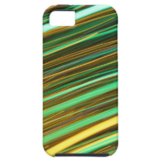 Green and Yellow Light Trails iPhone SE/5/5s Case
