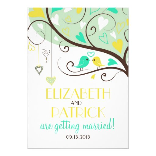 Wedding Invitation Green as awesome invitations design