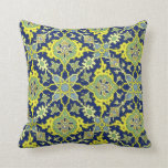 Green and yellow Pattern Pilow Pillows