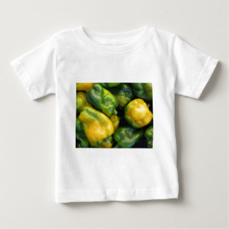 Green and yellow peppers baby T-Shirt