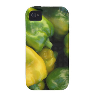 Green and yellow peppers iPhone 4/4S covers