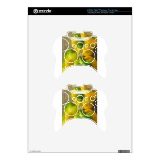 Green and yellow peppers xbox 360 controller skins