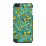 Green and Yellow Pow! iPod Touch (5th Generation) Cases