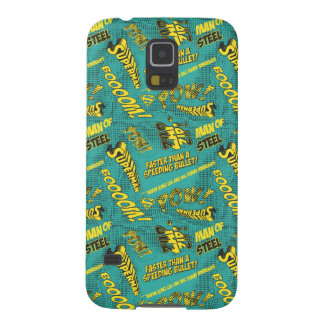 Green and Yellow Pow! Galaxy S5 Covers