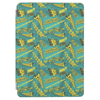 Green and Yellow Pow! iPad Air Cover
