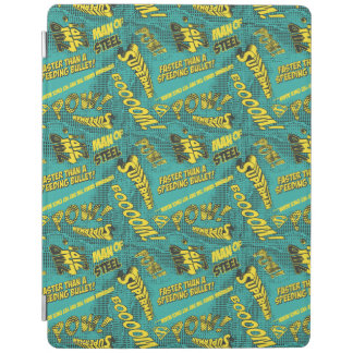 Green and Yellow Pow! iPad Cover