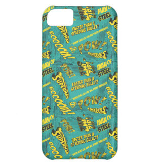 Green and Yellow Pow! iPhone 5C Cases