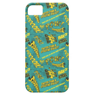 Green and Yellow Pow! iPhone SE/5/5s Case