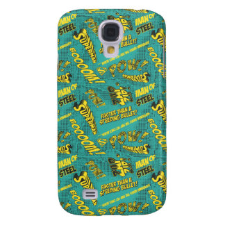 Green and Yellow Pow! Samsung Galaxy S4 Cover