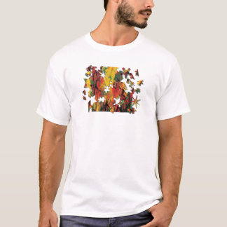 Green and Yellow Rust Puzzle T-Shirt