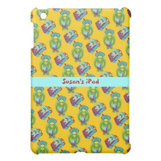 Green and Yellow School Time iPad Mini Case