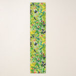 """Green and yellow spring scarf<br><div class=""""desc"""">A light and airy scarf,  perfect for spring and into summer.</div>"""