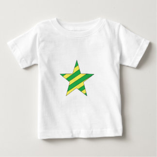 green and yellow star baby T-Shirt