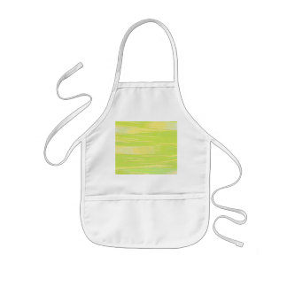 Green and Yellow texture Kids' Apron