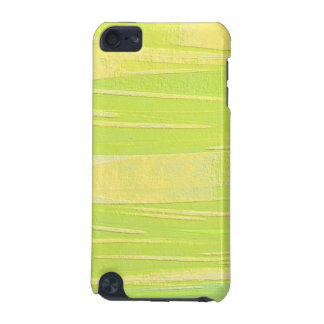 Green and Yellow Texture iPod Touch (5th Generation) Case