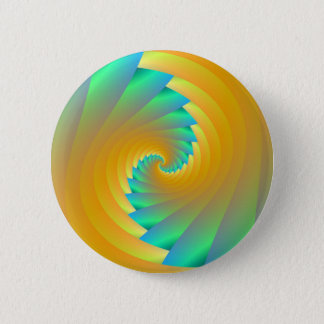 Green and Yellow Twister Button
