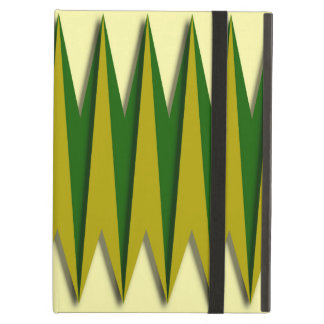 Green and Yellow Zigzag Case For iPad Air