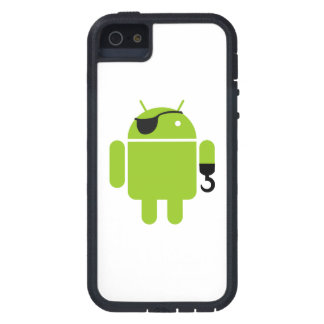 Green Android Robot Pirate iPhone SE/5/5s Case